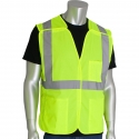 Class 2 5-Point Break-Away Safety Vest, Mesh, Hook & Loop Closure