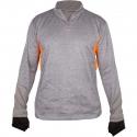 """CutArmour™ Quarter Zip jacket, 2"""" Collar, Mesh Back"""