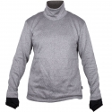 """CutArmour™ No-Zip Pullover, 4"""" Collar, Solid Back, Reinforced Front Wear Panel"""
