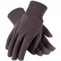 Regular Brown Jersey Cotton Glove