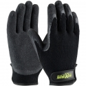 Maximum Safety® Cotton Mechanics Glove, Latex Coated Palm