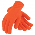 Orange Seamless 100% Acrylic Glove / Glove Liner