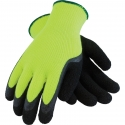 Hi-Vis Acrylic Terry Thermo Glove, Latex Coated Palm
