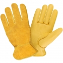 Deerskin Drivers Glove, Top-Grain Palm / Split Back