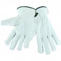 Premium Top Grain Cowhide Drivers Glove, Cut Resistant Lining, A4