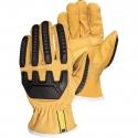OilBloc™ Goatskin Drivers Glove, Kevlar Lining, Impact Protection, A5
