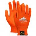 Orange Kevlar® Glove, Nitrile Foam Grip, Touchscreen Compatible, A4
