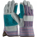 Good Double Palm Leather Work Glove, One-Size