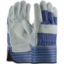 Better Double Palm Leather Work Gloves, SM-XL