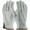 Good Cowhide Drivers Glove, Top-Grain Palm / Split Back