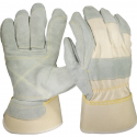 Best Double Palm & Double Fingers Work Gloves, Kevlar® Stitching, LG-XL