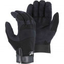 Armorskin™ Synthetic Leather Palm Mechanics Glove, Adjustable Wrist Closure