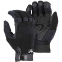 Armorskin™ Synthetic Leather Double Palm Mechanics Glove, Adjustable Wrist Closure
