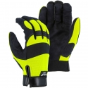 Armorskin™ Hawk Hi-Vis Yellow / Black Mechanics Glove