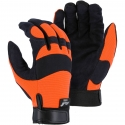 Armorskin™ Hawk Hi-Vis Orange / Black Mechanics Glove