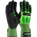 TuffMax™ HPPE Glove, Impact Protection, Nitrile Microsurface Grip, A2