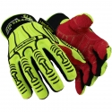 HexArmor® Rig Lizard® 2025 Glove, Impact Protection, Synthetic Leather Palm, A6
