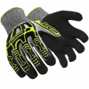 HexArmor® Rig Lizard Thin Lizzie™ Glove, Impact Protection, Sandy Nitrile Coated Palm, A4