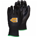 TenActiv™ Glove, Black PU Coated Palm, A4