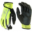 Viz-X™ Hi-Vis Yellow Mechanics Glove, Adjustable Closure