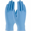 5 Mil Blue Textured Grip Nitrile Gloves, Powdered