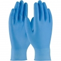 4 Mil Blue Textured Grip Nitrile Gloves, Powder Free