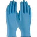 8 Mil Blue Textured Grip Nitrile Gloves, Powder Free
