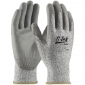 Gray PolyKor® Glove, PU Coated Palm, A3