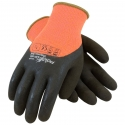 PowerGrab™ Orange Thermo Glove, 3/4 Coverage Latex Microsurface Grip
