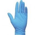 "8 Mil Blue Textured Grip Nitrile Gloves, 12"" Length, Powder Free"