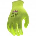 Silver Series™ Hi-Vis Glove, PU Coated Palm, A2