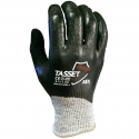 Gray HPPE Glove, 3/4 Coverage Nitrile Coated, A4