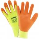 Hi-Vis Yellow HPPE Glove, Nitrile Foam Grip, A3