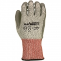 Machinist® HPPE Glove, Gray PU Coated Palm, A4