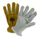 Ironcat® Cowhide Drivers Glove, Top-Grain Palm / Split Back