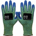 Ion A4™ Green HPPE Glove, Latex Coated Palm, A4