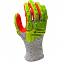 HPPE Glove, Impact Protection, Sandy Nitrile Foam Grip, A5