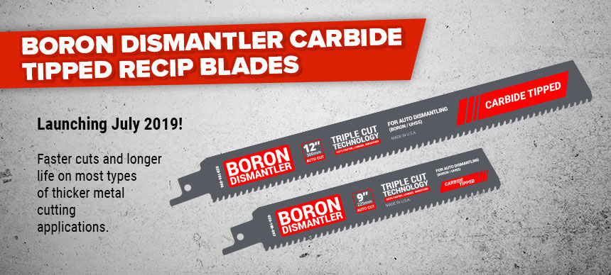 Launching July 2019 - Born Dismantler Carbide Tipped Blades