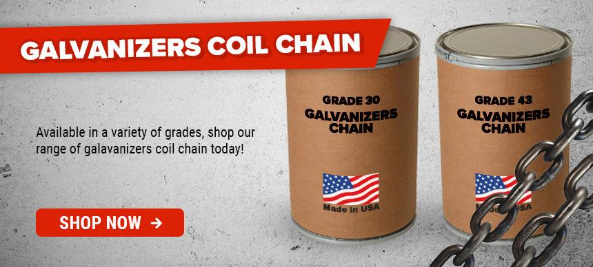 Galvanizers Coil Chain
