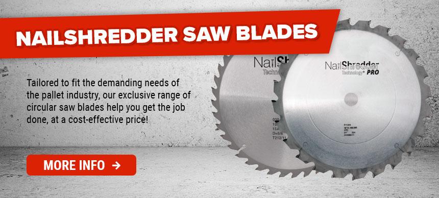 Nailshredder Saw Blades