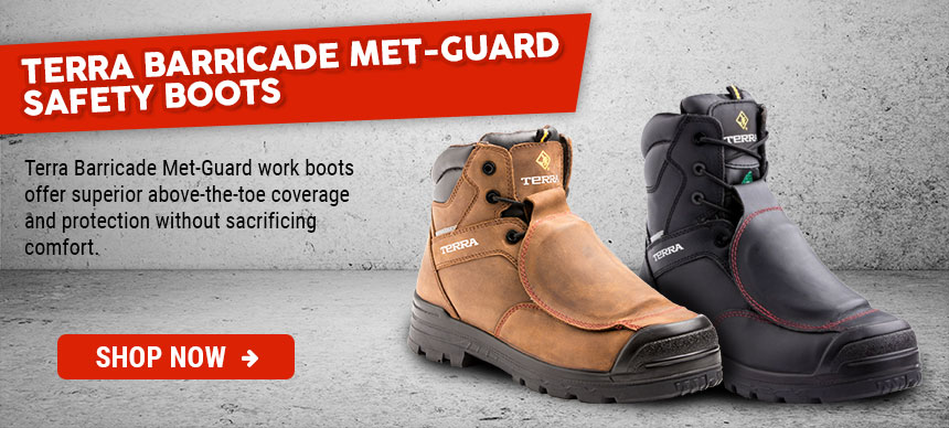 Terra Barricade Safety Workboots